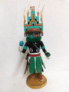 Antique Native American Hopi Carved Hemis Katsina Doll