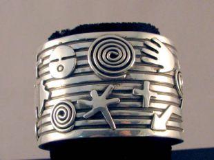 Native American Zuni/Navajo Made Cuff Bracelet