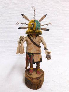Native American Hopi Carved Ahola Chief Katsina Doll
