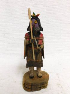 Native American Hopi Carved Ogre Woman Disciplinarian Katsina Doll