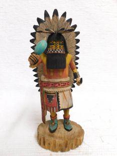 Native American Hopi Carved Comanche Katsina Doll