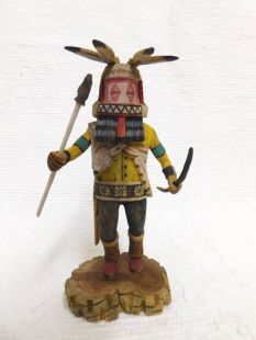 Native American Hopi Carved Dishevelled Katsina Doll