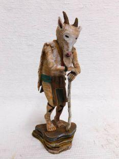 Native American Hopi Carved Billy Goat Fertility Katsina Doll