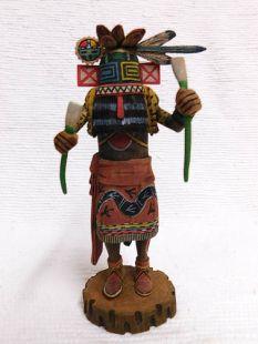 Native American Hopi Carved Hillili Guard Katsina Doll