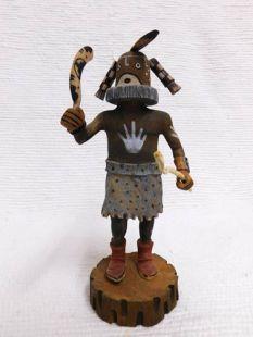 Native American Hopi Carved Mastop Fertility Katsina Doll