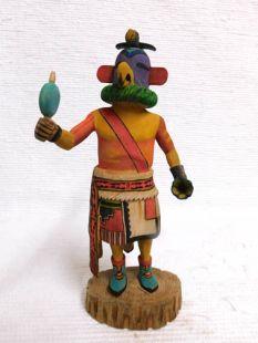 Native American Hopi Carved Parrot Bird Katsina Doll