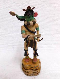 Native American Hopi Carved Longhorn Katsina Doll