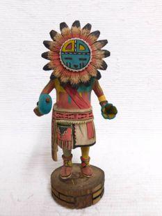 Native American Hopi Carved Sunface Katsina Doll