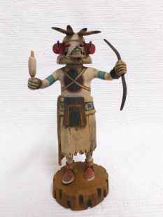 Native American Hopi Carved Bear Powerful Healer Katsina Doll