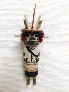 Old Style Hopi Carved Antelope Traditional Katsina Doll