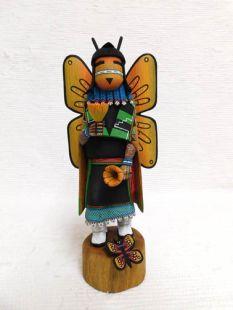 Native American Hopi Carved Butterfly Maiden Katsina Doll