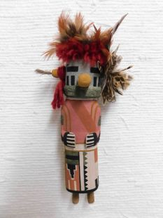 Old Style Hopi Carved Navajo Traditional Dancer Katsina Doll