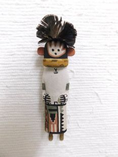 Old Style Hopi Carved Pot Carrier Traditional Katsina Doll