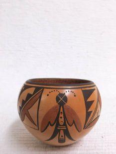 Native American Hopi Handbuilt Handpainted Traditional Bowl