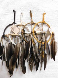 """4""""--Native American Navajo Made Medicine Wheel"""