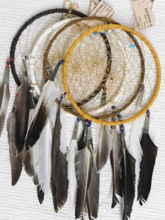 "6""--Native American Navajo Made Dreamcatchers"