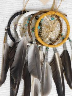 "3""--Native American Navajo Made Dreamcatchers"