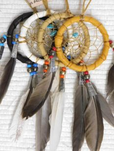 "2""--Native American Navajo Made Dreamcatchers"