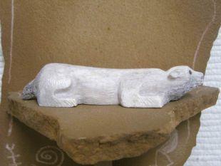 Zuni Carved Badger Fetish