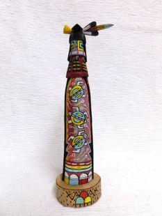 Native American Hopi Carved Turtle Katsina Sculpture