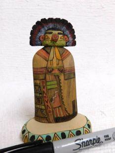 Native American Hopi Carved Morning Singer Katsina Sculpture