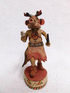 Native American Hopi Carved Bear Powerful Leader Katsina Doll