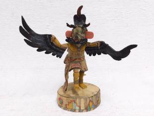 Native American Hopi Carved Eagle Great Spirit Dancer Katsina Doll