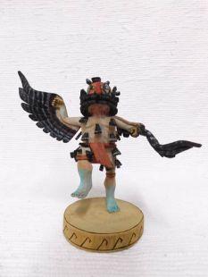 Native American Hopi Carved Turkey Katsina Doll
