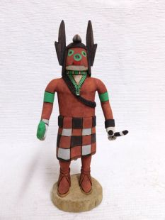 Native American Hopi Carved Blowing Sand Katsina Doll