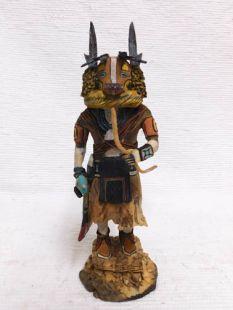 Native American Hopi Carved Badger Healer Katsina Doll