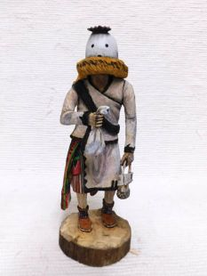 Native American Hopi Carved Eototo Chief Katsina Doll