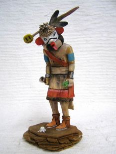 Native American Hopi Carved Imitator Clown Katsina Doll