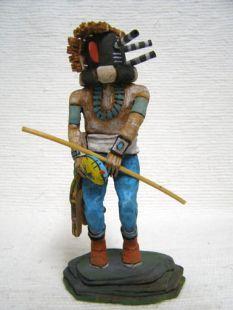Native American Hopi Carved Mocking Katsina Doll