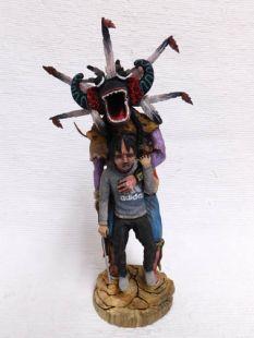 Native American Hopi Carved Ogre Disciplinarian Katsina Doll