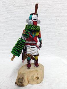 Native American Hopi Carved Coyote Clan Katsina Doll