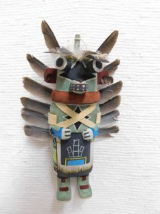 Old Style Hopi Carved Chasing Star Traditional Planetary Katsina Doll