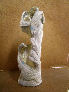 Zuni Carved Eagles Fetish