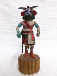 Native American Hopi Carved Cocklebur Guard Katsina Doll