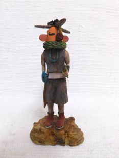 Native American Hopi Carved Sweet Corn Thrower Plant Katsina Doll