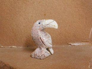 Zuni Carved Bird Fetish--Toucan