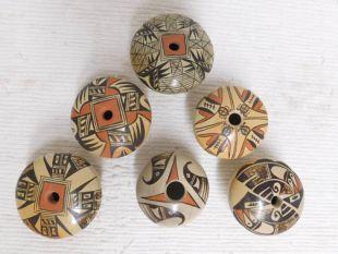 Native American Hopi Handbuilt and Handpainted Seed Pots