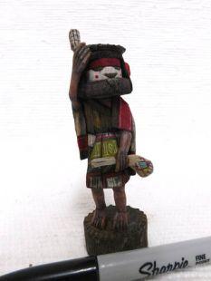 Native American Hopi Carved Grandmother Katsina Doll--mini