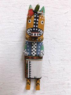 Old Style Hopi Carved Dog Traditional Animal Katsina Doll
