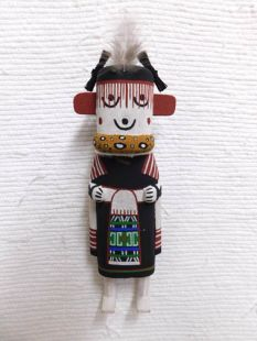 Old Style Hopi Carved Grandmother Traditional Katsina Doll