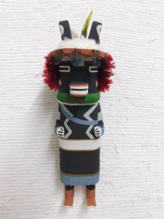 Old Style Hopi Carved Ram Traditional Katsina Doll