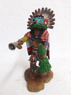 Native American Hopi Carved Morning Singer Katsina Doll