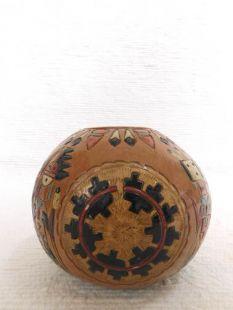 Native American Navajo Handbuilt Pitch Pot