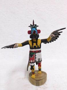 Native American Hopi Carved Eagle Great Spirit Katsina Doll