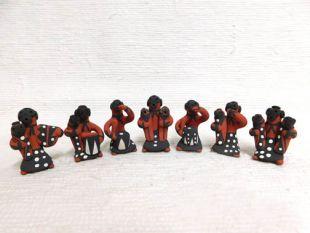 Native American Jemez Made Mudhead Storytellers