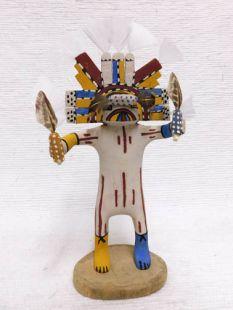 Native American Hopi Carved Butterfly Maiden Dancer Katsina Doll